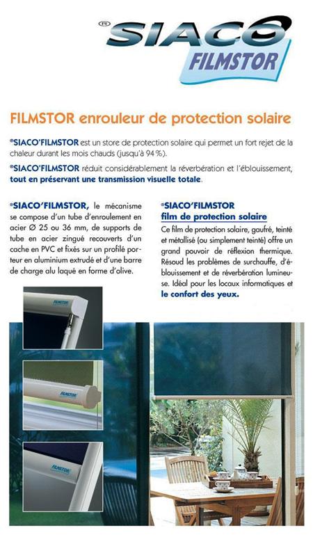 Store Solaire Protection Teinté Décoration